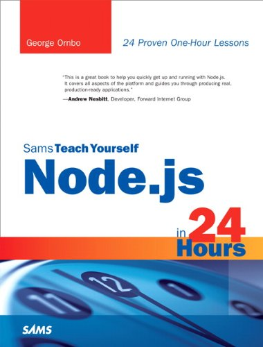 9780672335952: Sams Teach Yourself Node.js in 24 Hours (Sams Teach Yourself in 24 Hours)