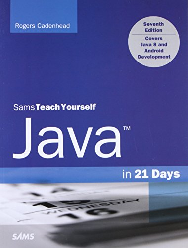 9780672337109: Java in 21 Days, Sams Teach Yourself (Covering Java 8) (7th Edition)