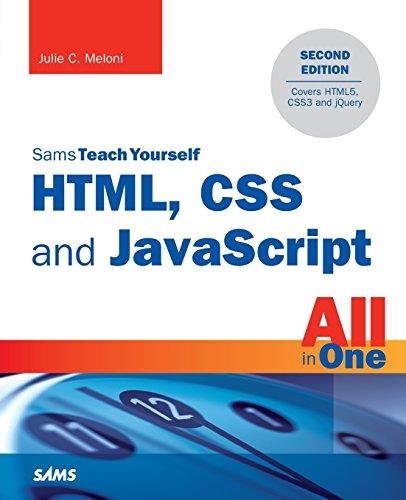 9780672337147: HTML, CSS and JavaScript All in One, Sams Teach Yourself (The Sams teach yourself all in one series)