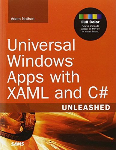 9780672337260: Universal Windows Apps with XAML and C# Unleashed