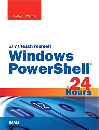 9780672337284: Windows Powershell 5 in 24 Hours