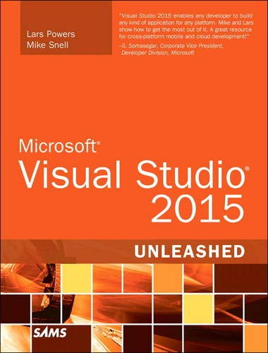 9780672337369: Microsoft Visual Studio 2015 Unleashed (3rd Edition)