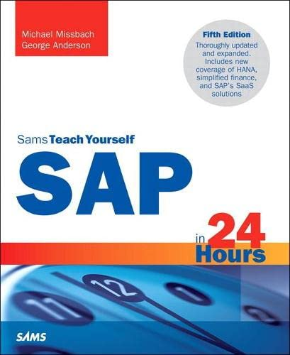 9780672337406: Teach Yourself Sap in 24 Hours