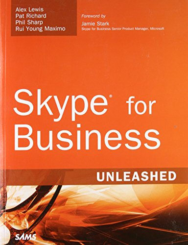 9780672338496: Skype for Business Unleashed