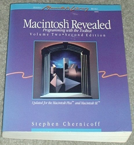 9780672484018: 2: Macintosh Revealed (Hayden Macintosh Library Books)