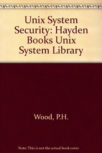9780672484940: Unix System Security
