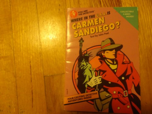 9780672485282: The Where in the U.S.A. Is Carmen Sandiego? Book (Carmen discovery series)