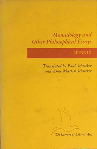 9780672510847: Monadology and Other Philosophical Essays