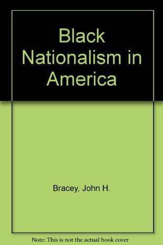 9780672512414: Black Nationalism in America