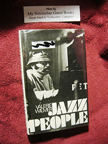 9780672515484: Jazz People: