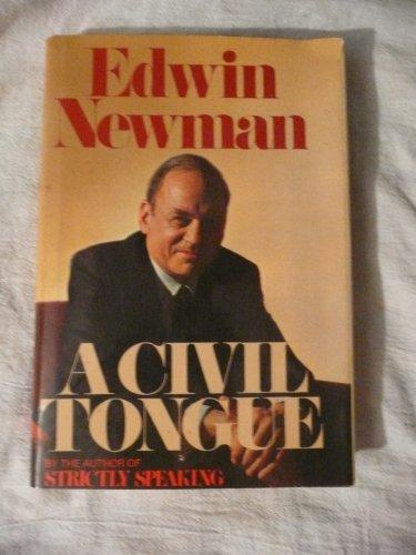 9780672522673: A Civil Tongue