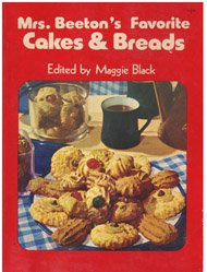 Mrs. Beeton's Favorite cakes and breads (0672523221) by Beeton