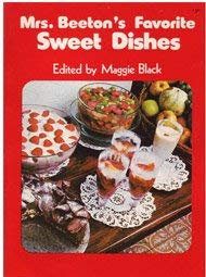 Mrs. Beeton's Favorite sweet dishes (067252323X) by Beeton