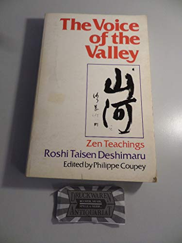 9780672525865: The Voice of the Valley: Zen Teachings (English and Japanese Edition)