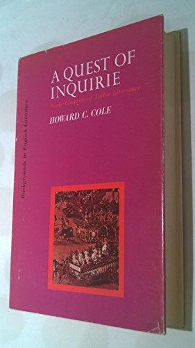 the quest in literature