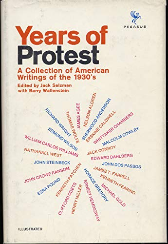 Years of Protest: A Collection of American Writings of the 1930's