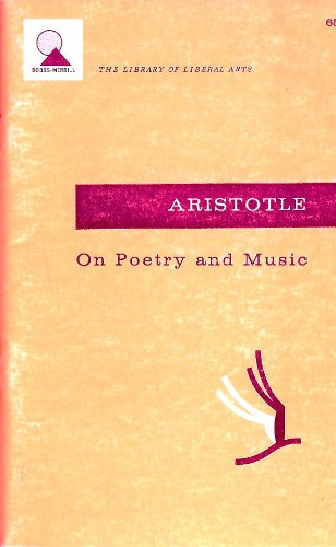 On The Art of Poetry: With a: Aristotle, Nahm, Milton