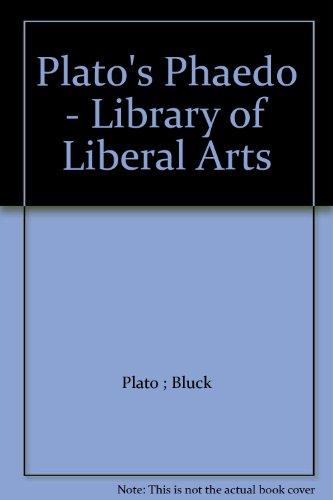 9780672603082: Plato's Phaedo (Bobbs-Merrill Library of Liberal Arts)