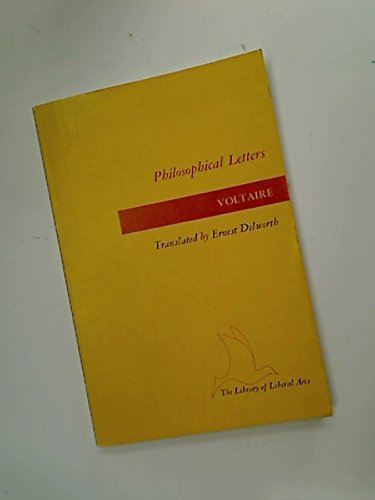 9780672603266: Philosophical Letters (The Library of Liberal Arts)