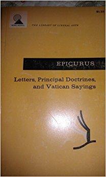 Letters, Principal Doctrines, and Vatican Sayings: Geer, Russel M.