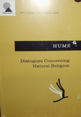 9780672604041: Dialogues Concerning Natural Religion