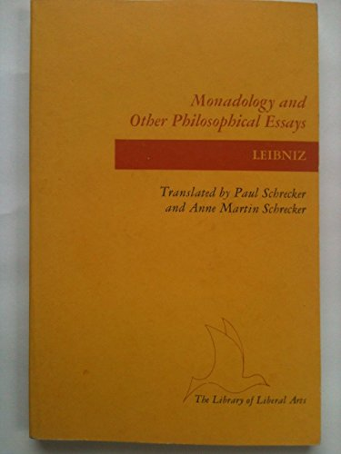 9780672604263: Monadology Other Philosophical Essays
