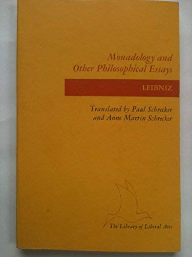 9780672604263: Monadology and Other Philosophical Essays