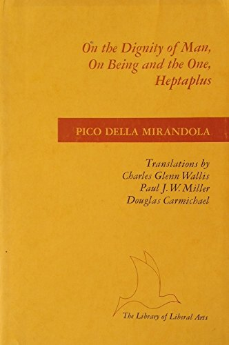 mirandola oration on the dignity of man