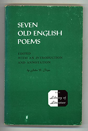 9780672609763: Seven Old English Poems