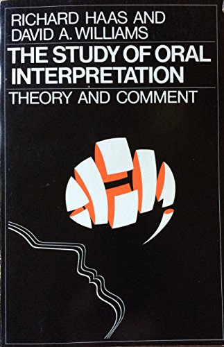 9780672612268: Study of Oral Interpretation: Theory and Comment