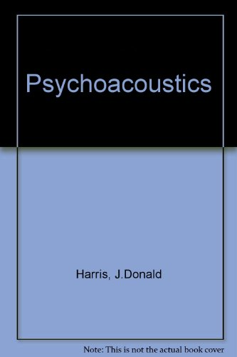 9780672613326: Psychoacoustics (Bobbs-Merrill studies in communicative disorders)