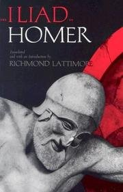 9780672614149: The Iliad of Homer (The Library of liberal arts ; 228)