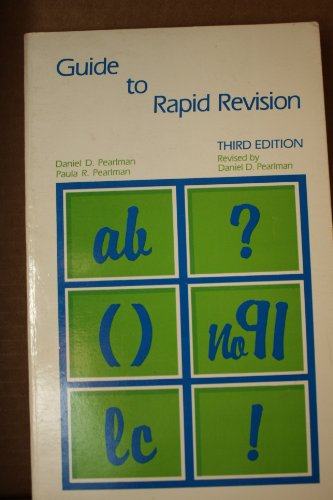 9780672615344: Guide to Rapid Revision