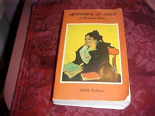 9780672615696: Responding to prose: A reader for writers