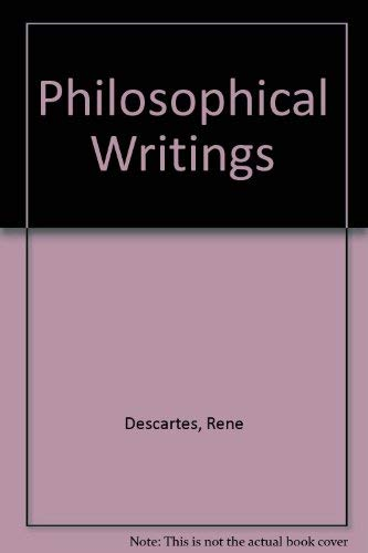 9780672617744: Philosophical Writings