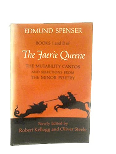 9780672630347: Books I and II of The Faerie Queene: The Mutability Cantos and Selections from the Minor Poetry