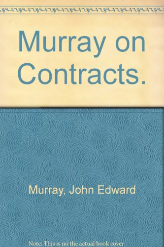 9780672817755: Murray on Contracts.
