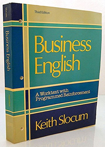 9780672973109: Business English: A Worktext with Programmed Reinforcement