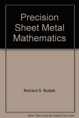 9780672975912: Precision Sheet Metal Mathematics
