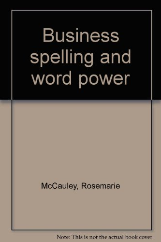 9780672979750: Business spelling and word power