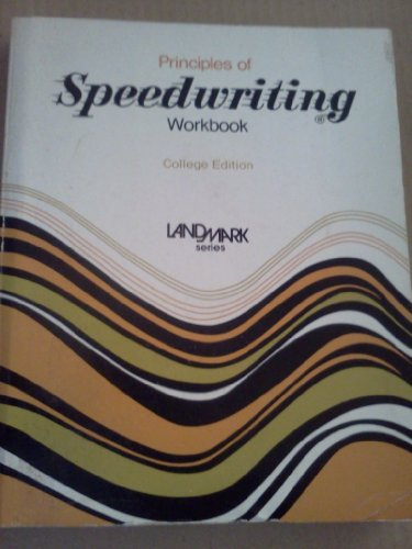 9780672980039: Principles of Speedwriting Workbook
