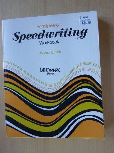 9780672980503: Principles of Speedwriting Workbook