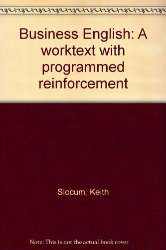 9780672985577: Business English: A worktext with programmed reinforcement