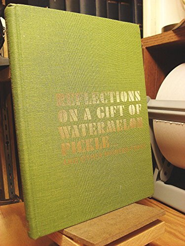 9780673033635: Reflections on a Gift of Watermelon Pickle ... and Other Modern Verse