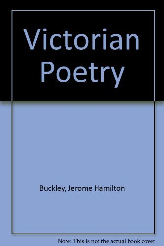 9780673056306: Poetry of the Victorian Period (3rd Edition)