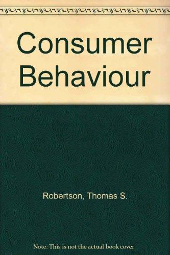 9780673075536: Consumer Behaviour