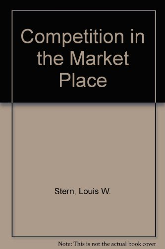 9780673075697: Competition in the Market Place