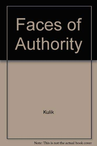 9780673076892: Faces of Authority