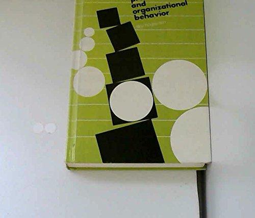 Managerial Process and Organizational Behavior: Filley Alan C.