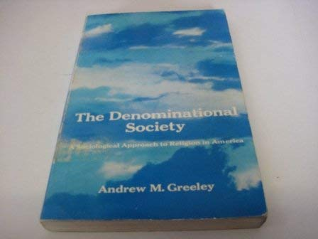9780673079206: Denominational Society-Paper